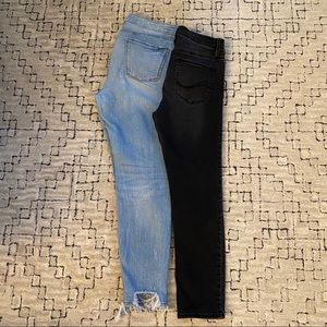 Two pairs of jeans!